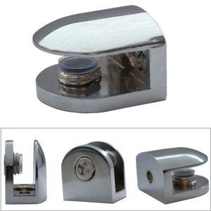 Regalhalter 2x Glasbodenträger Chrom Glasbodenhalter Regalbodenträger Glasplatte