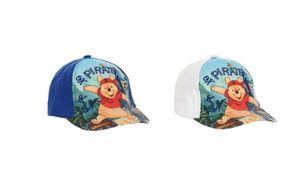 Winnie Pooh Kappe Cap Mütze Hut Sonnenschutz, Farbe:Blau, Größe:50