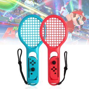 Twin Pack Tennisschlaeger fuer N-Switch Joy-Con Controller fuer Mario Tennis Spiele