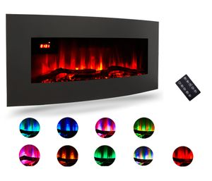 Crenex® LED Standkamin Heizung Wandkamin Elektrokamin Kamin Wärme 900W/1800W 10 Farben
