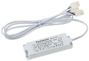 Paulmann N 60 Halogen Trafo elektronischer Transformator 12 V 60W Weiss