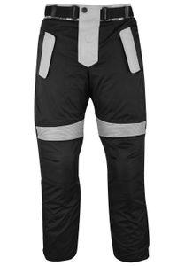Herren Motorradhose Textilien Motorrad Hose Kombihose Schwarz-Grau, Hosengröße:54/XL