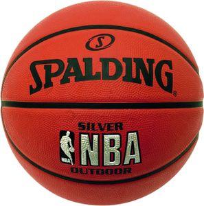 Spalding NBA Silver Outdoor (83-016Z)  - Größe: 7, 3001592010017