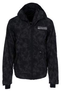 CHIEMSEE Herren Skijacke Regular fit AOP, Größe:L, Chiemsee Farben:Black/M Grey 9075