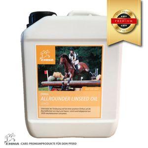 Leinöl fürs Pferd- Ergänzungsfutter für glänzendes Fell & gute Verdauung 25%, 2,5 L (9,16 EUR / l)
