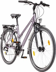 Zündapp Alu-Damen-Trekkingbike Silver 3.0, 26 Zoll