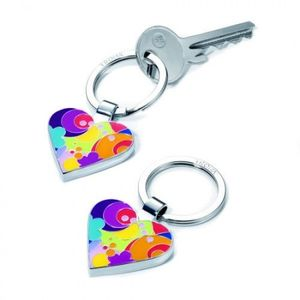 Schlüsselanhänger I LOVE SHOPPING herz von Troika