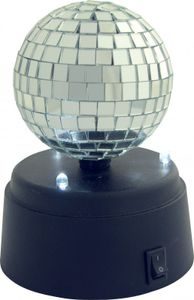 H+H DSB 01 LED Mini-Discoball, batteriebetrieben