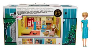 Barbie Signature Mattel 75th Anniversary Retro Traumvilla 1962 mit Puppe