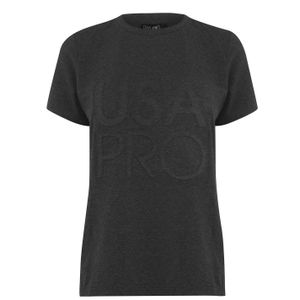 USA Pro Damen Long Line T Shirt XL