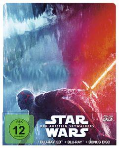 Star Wars: Der Aufstieg Skywalkers [Blu-Ray 2D + 3D Steelbook]