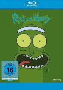 Rick and Morty Staffel 3 (Blu-ray) -   - (Blu-ray Video / Sonstige / unsortiert)