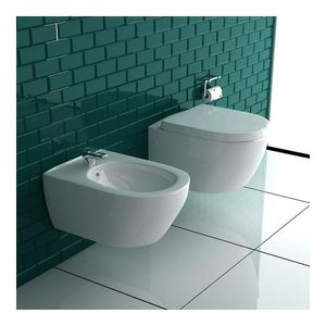 Alpenberger Bidet Set I WC mit Bidet inkl. WC-Sitz I 2 in 1 SET I Hänge WC mit Bidet