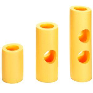 schwimmnudelverbinder Schaumstoff in einer Größe gelb