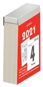 herlitz Tages-Abreißkalender 65 x 100 mm Nr.4 2021