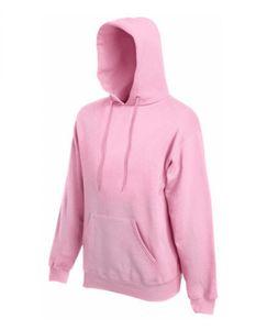 Classic Hooded Sweat - Farbe: Light Pink - Größe: M