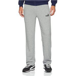 Puma Jogginghose Herren ESS Logo Pant, Größe:L, Farbe:Grau