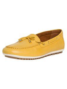 Tamaris Damen Slipper gelb 1-1-24603-24 schmal Größe: 37 EU