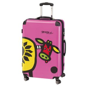 56-2210575-75 Check In Kuh Family 4-Rollen-Trolley XL 76 cm Check In Kuh Family 4-Rollen-Trolley XL 76 cm Check IN