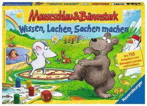 Ravensburger Mauseschlau & Bärenstark - Wissen, Lachen, Sachen machen