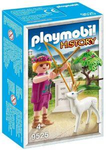 PLAYMOBIL 9525 History Griechische Götter 9525 Artemis Figur mit Zubehör
