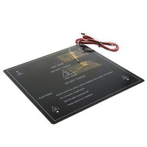 3D Drucker 310 * 310 * 3mm Aluminium Heatbed Wärmebett 12V 220W & Wärmeleitkabel für CR-10