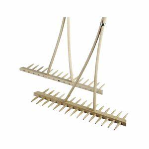 Landrechen mit Eisenzinken mit Holzstiel, Maße: 2,8x180cm