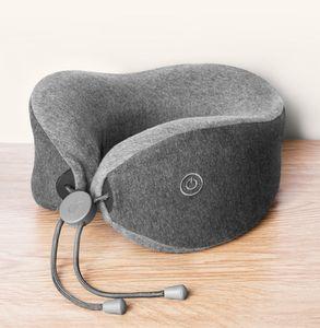 Xiaomi LF U-Form Nackenmassage Kissen Entspannen Muskelmassagegeraet Entlastungsdruck Helfen Schlaf Kissen Arbeit Home Auto Reise Verwenden