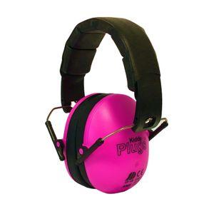 KiddyPlugs Kinder Kapselgehörschutz, Lärmschutz Kopfhörer, Ohrenschützer - schadstoffarm - faltbar größenverstellbar - sehr weich - faltbar Farbe:hellblau