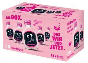 Kleiner Feigling Bubble Gum Likör | 20 % vol | 12 x 0,02 l
