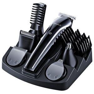ETEREAUTY Bartschneider Kit Multifunktionales Elektrobartschneider All-in-1 Wiederaufladbare Grooming Kit für Männer Erwachsene (EU-Stecker)