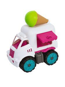 BIG Power-Worker Spielzeug Mini Eiswagen