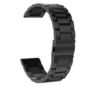 Edelstahl WatchBand WristStrap Für Samsung Galaxy Watch Active 2 40 / 40mm FQQ90814105BK