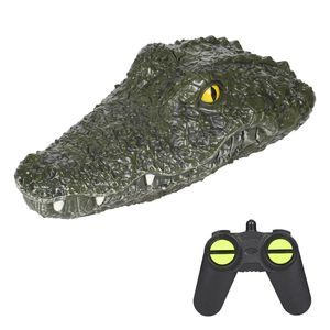 JJRC RC Bootssimulation Krokodil-Elektro-Rennboot fš¹r Pools 2.4G Remote 2CH Control Parodie Spielzeug