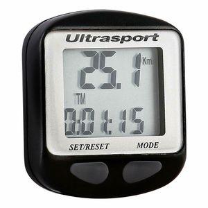 Ultrasport 56474 Fahrradcomputer Fahrradtacho Fahrrad Tacho Computer Kabellos Sport