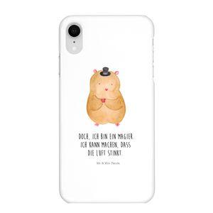 Mr. & Mrs. Panda Iphone XR, Premium Kunststoff, Iphone XR Handyhülle Hamster mit Hut mit Spruch
