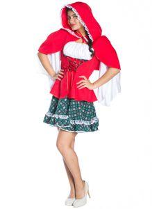 Kostüm Rotkäppchen 3-tlg. Größe: 40