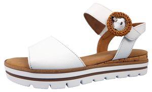 Gabor Comfort  Damenschuhe Sandalen Sandale Weiß Freizeit, Schuhgröße:EUR 38.5   UK 5.5