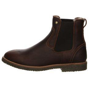 Panama Jack Garnock Igloo Herren Chelsea Boot Stiefel Braun Schuhe, Größe:44