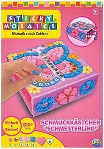 Sticky Mosaics: Butterfly Treasure Box