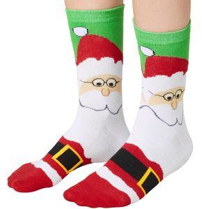 dressforfun Weihnachtssocken mit Weihnachtsmann-Motiv - 39-42