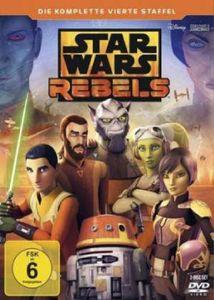 Star Wars Rebels - Staffel #4 (DVD) 3DVD Min: 339DD5.1WS  Komplette 4. Staffel