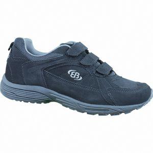 Brütting Hiker V Damen und Herren Nylon Sport Sneaker schwarz/grau, Textilfutter, Textileinlegesohle, 4236131/43