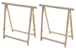 2x Holz Klappbock Unterstellbock Gerüstbock Stützbock Arbeitsbock Stützbalken