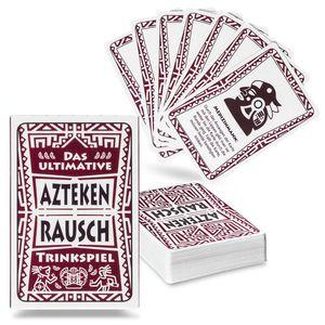 Trinkspiel Aztekenrausch - Das gesellige Karten Saufspiel Partyspiel zum Vorglühen