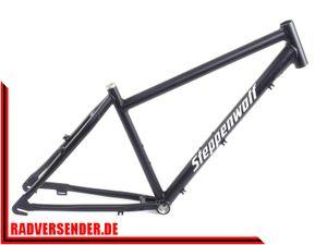 26 Zoll Alu Herren Citybike Rahmen Steppenwolf Urbanic Tiago RH44 schwarz frame