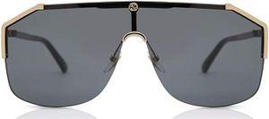 Gucci GG0291S-001 99 Schwarz/Gold Sonnenbrille