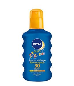 Nivea Sun Kids pflegendes Sonnenspray LSF 30 Extra Wasserfest 200ml