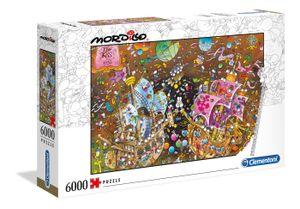Clementoni puzzle Mordillo- der Kiss 6000 Teile