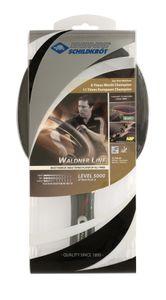Donic-Schildkröt Tischtennisschläger Waldner 5000, ABP-Griff, 2,3 mm Schwamm, Carbonholz, Liga - ITTF Belag